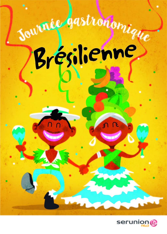 Journée gastronomique Brésilienne le jeudi 21